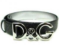 D&G ディー&ジー メンズベルト DC0624-E1417 ブラック ドルガバ
