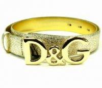 D&G ディー&ジー メンズベルト DC0624-E1417 ゴールド ドルガバ