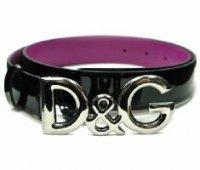 D&G ディー&ジー メンズベルト DC0624-E1015 ブラック ドルガバ