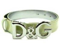 D&G ディー&ジー メンズベルト DC0624-E1015 ベージュ ドルガバ