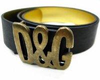 ドルチェ&ガッバーナ ベルト DOLCE&GABBANA - D&G ディー&ジー メンズベルト DC0459-E1366 ブラック ドルガバ