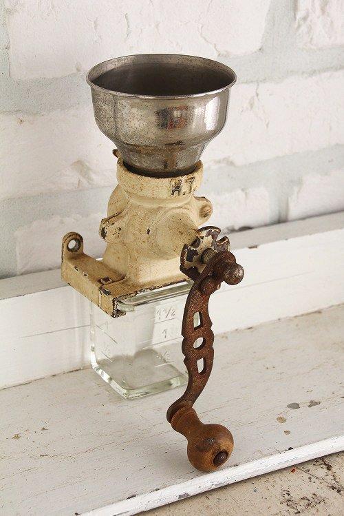 アンティークコーヒーグラインダー