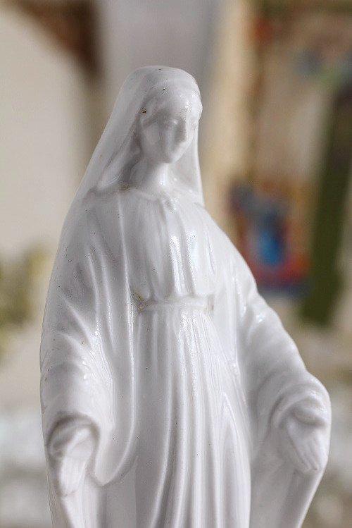 アンティークマリア像無原罪のマリア様