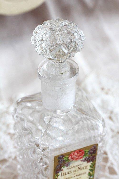 アンティークパフュームガラスボトル