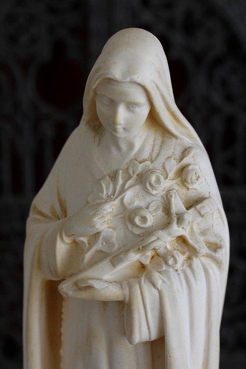 アンティーク聖テレーズ像