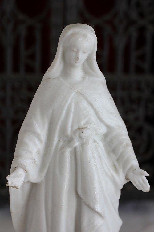 アンティークマリア像