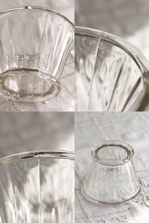 アンティークガラスコンフィチュールポット