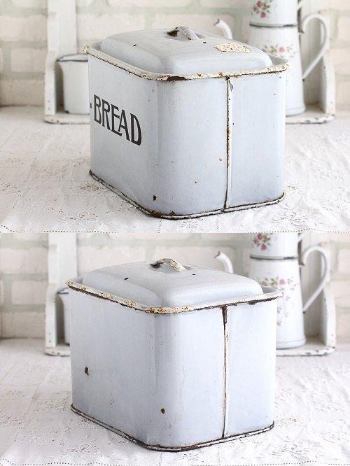 アンティークホーローブレッド缶