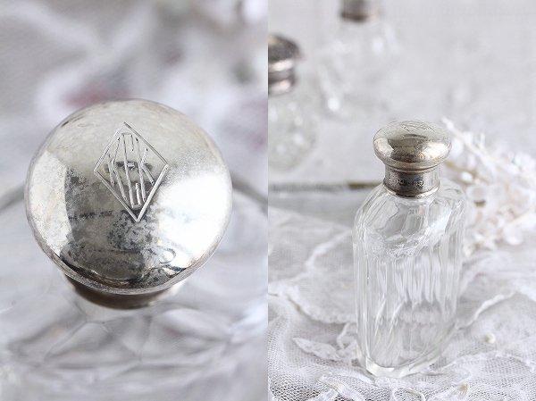 アンティークバニティガラスボトルA