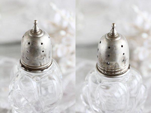 アンティークガラスボトルポワブル