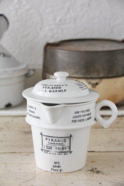 アンティーク陶器フードウォーマー