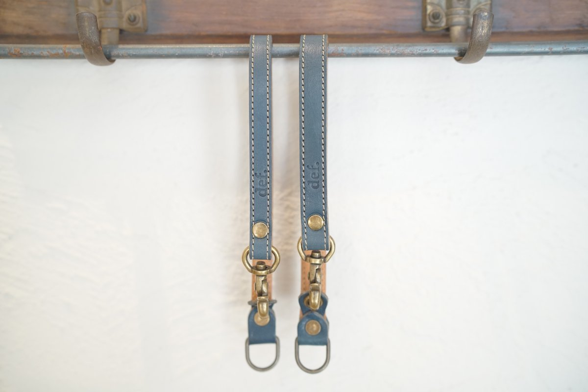 "【def.】Leash handle ""BLUE"""