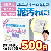<img class='new_mark_img1' src='https://img.shop-pro.jp/img/new/icons5.gif' style='border:none;display:inline;margin:0px;padding:0px;width:auto;' />【送料無料】泥スッキリ303お試し【初回限定】