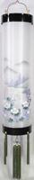 住吉提灯 二重張り 本塗り 「青藍華」