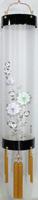 住吉提灯 絹張り 本塗り 「牡丹金」