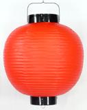 赤ビニール提灯 丸型