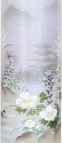 盆提灯-住吉提灯 二重張り 本塗り 「五重の塔」 尺二(12号)の画像2