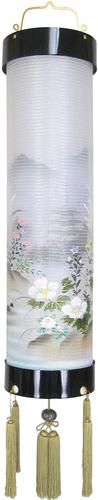 盆提灯-住吉提灯 二重張り 本塗り 「五重の塔」 九寸(9号)の画像1