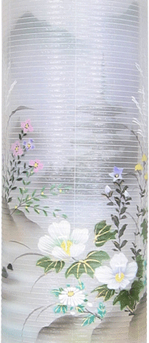 盆提灯-住吉提灯 二重張り 本塗り 「五重の塔」 九寸(9号)の画像2