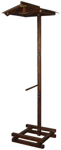 屋根付き提灯台 中 山型 提灯固定棒付きの画像1