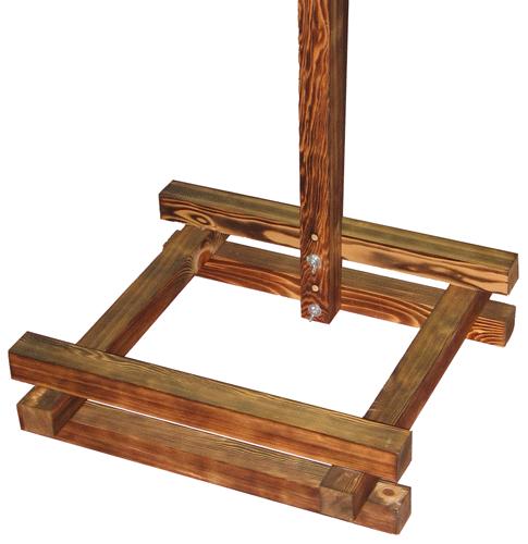 屋根付き提灯台 中 山型 提灯固定棒付きの画像2