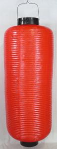 赤ビニール提灯 長型 博多長桜