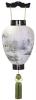 盆提灯-別撰・御所提灯 二重張り 本塗り 「五重の塔」