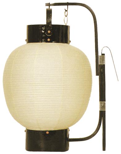 弓張提灯 九寸丸 ロウソク式の画像1