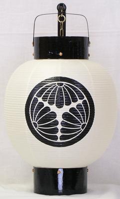 弓張提灯 九寸丸 ロウソク式の画像2