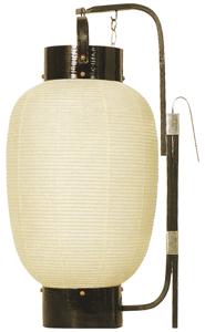 弓張提灯 九寸長 ロウソク式