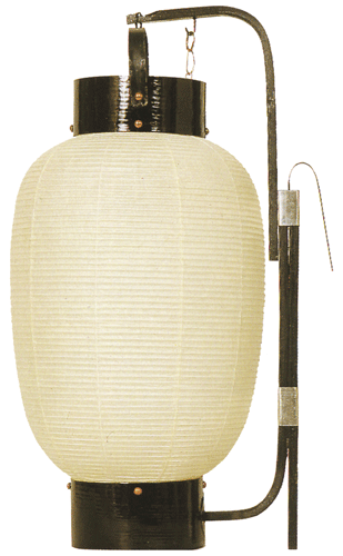弓張提灯 九寸長 ロウソク式の画像1