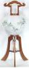 盆提灯-大内行灯 二重張り 欅 「藤山水」 尺(10号)