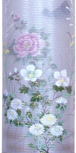 盆提灯-住吉提灯 二重張り 桜 「牡丹芙蓉」 九寸(9号)の画像2