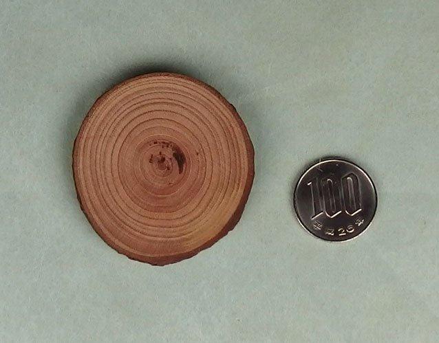 桜の木の輪切り板(中)