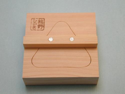 熊野ひのき おにぎり型:三角