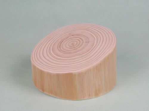 ディスプレイ用:ヒノキの丸太(小)A