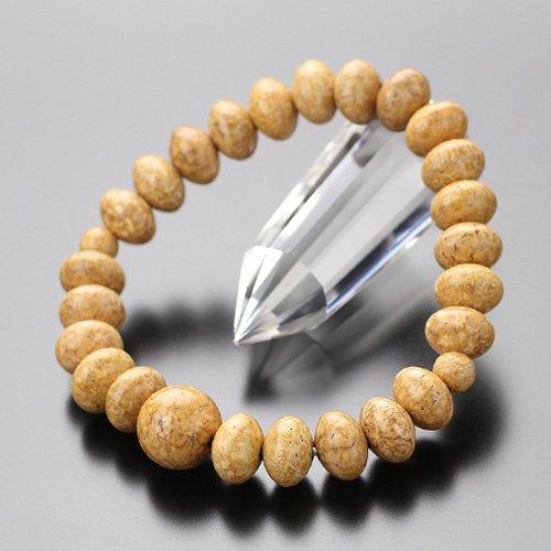 数珠ブレスレット 尺三 みかん玉 天竺菩提樹【腕輪念珠/数珠ブレス/107000026】【送料無料】