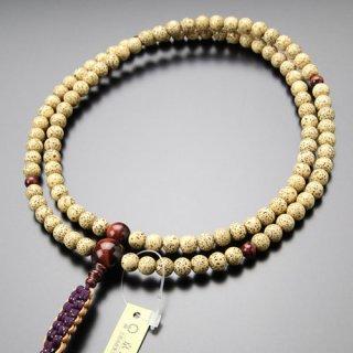 臨済宗 数珠 男性用 尺二 星月菩提樹 赤虎目石 紐房 2000300600151 送料無料