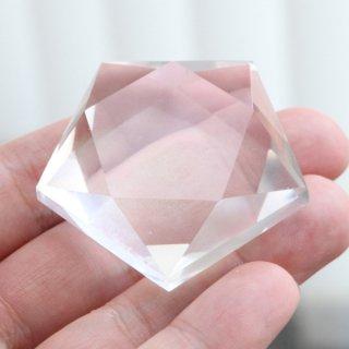【写真現品お届け】ペンタグラム 本水晶 約58グラム 2000900802818