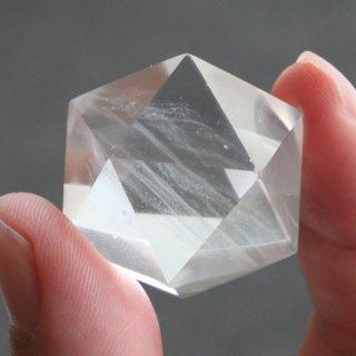 【写真現品お届け】正20面体 約34グラム 天然水晶 2000900802788-3
