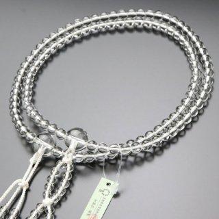 日蓮宗 数珠 男性用 尺二 本水晶 梵天房 2000300400591 送料無料
