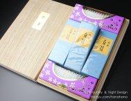 ◆特価◆贈答・進物用お線香◆「白檀線香+ローソクセット」桐箱入り【112010002】