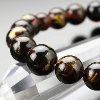 数珠ブレスレット 約10ミリ 虎琥珀 107100070 送料無料