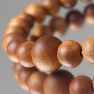 数珠ブレスレット 尺二 約7×8ミリ 白檀 (インド産) 107080213
