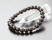 8ミリ 茶水晶 腕輪念珠【数珠ブレスレット】【天然石】【スモーキークォーツ】【107080010】