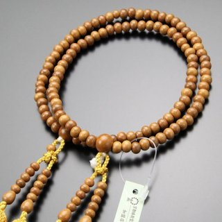 八宗派兼用 数珠 女性用 8寸 正梅 正絹房 102880142
