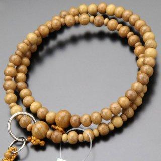 浄土宗 数珠 女性用 8寸 正梅 本銀輪 梵天房 102550060