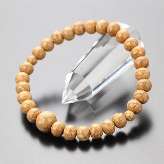 数珠ブレスレット 尺玉 天竺菩提樹 107000299 送料無料