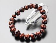 ◆特価◆10ミリ 赤虎目石 腕輪念珠【数珠ブレスレット】【107100007】