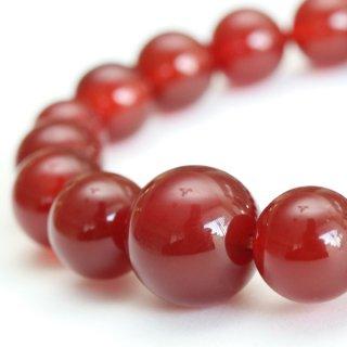 数珠ブレスレット 約12ミリ 本瑪瑙 107120001 送料無料